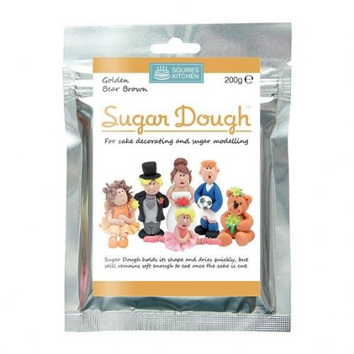 Squires Kitchen Golden Bear Brown Sugar Dough - 200g